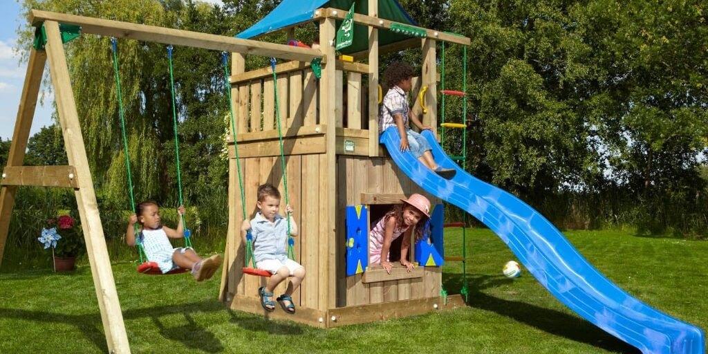 Les 7 Meilleures Aires de Jeux de Jardin (portiques en bois)